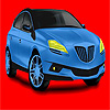 Big blue concept car coloring
