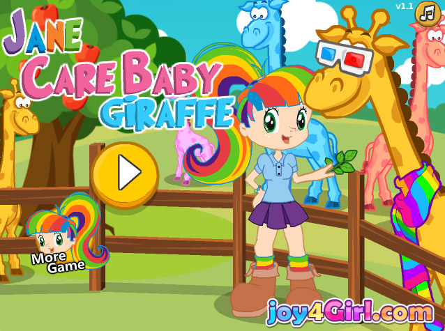 Jane Care Baby Giraffe | Enjoy Free Flash Games, Choose an ...