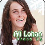 Ali Lohan Dress Up