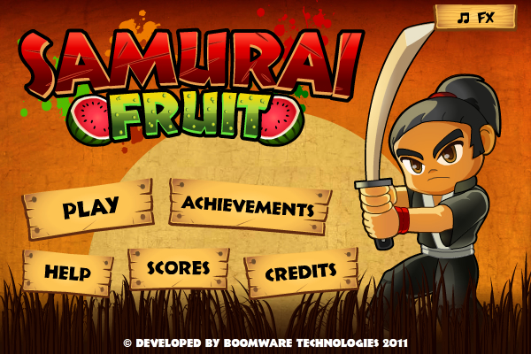 Fruit Ninja Flash